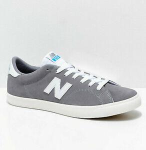 New Balance Numeric AM 210 Size 8-9.5 Mens Grey White Fresh Foam Shoes