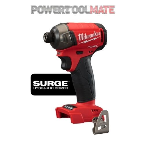 "Milwaukee M18FQID-0 Fuel Surge Quiet 1 4"" Hydraulic Impact Driver (Body Only)"