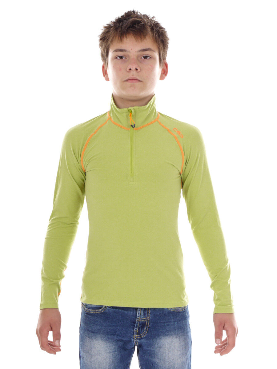 CMP Sweatshirt Function Top Green Collar  Stretch Softech Lightweight  the lowest price