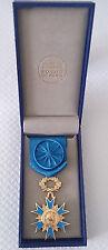 Médaille ONM O.N.M ORDRE NATIONAL DU MÉRITE OFFICIER OR VERMEIL 3 Décembre 1963