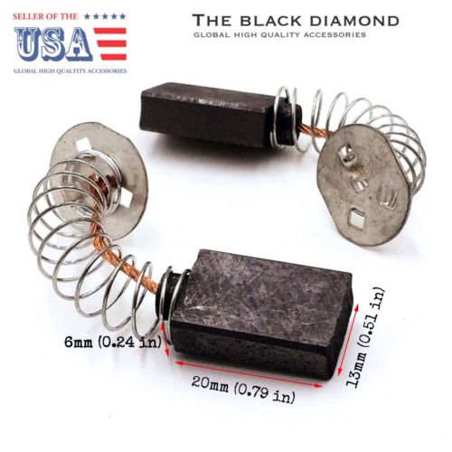 Replacement Motor Carbon Brushes 1 pair for DeWalt DW705 Type 6