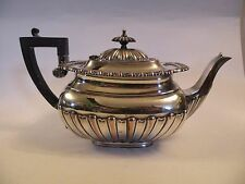 SBup OLD SHEFFIELD SILVER OVER COPPER REPRODUCTION TEAPOT, England VINTAGE