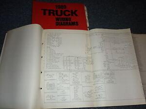 1989 FORD F600 F800 F-600 F-800 COWL WIRING DIAGRAMS | eBayeBay