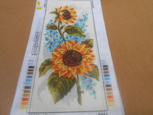 Panel De Flores Girasoles y Wisteria Tapiz Lona Floral Collection d /'Art