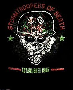 STORMTROOPERS-OF-DEATH-S-O-D-cd-lgo-HELMET-Official-SHIRT-LRG-New-speak-english