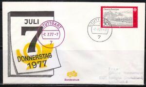 Germany-1977-cover-SST-Sonderstempel-Stuttgart-7777