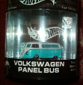 """HOT WHEELS LIMITED VW T1 TRANSPORTER """"HEISSE RÄDER"""" PANEL VAN (2003) - OVP/MIB"""