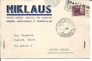 N579- NIKLAUS ARTICOLI PER FUMATORI-MILANO CARTOLINA POSTALE