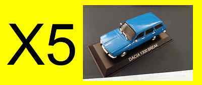 "DIE CAST /"" DACIA 1300 BREAK /"" LEGENDARY CARS SCALA 1//43"