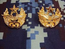 Wing46 Royal Thai Air Force COLLAR PINS BADGE สังกัด ทอ.