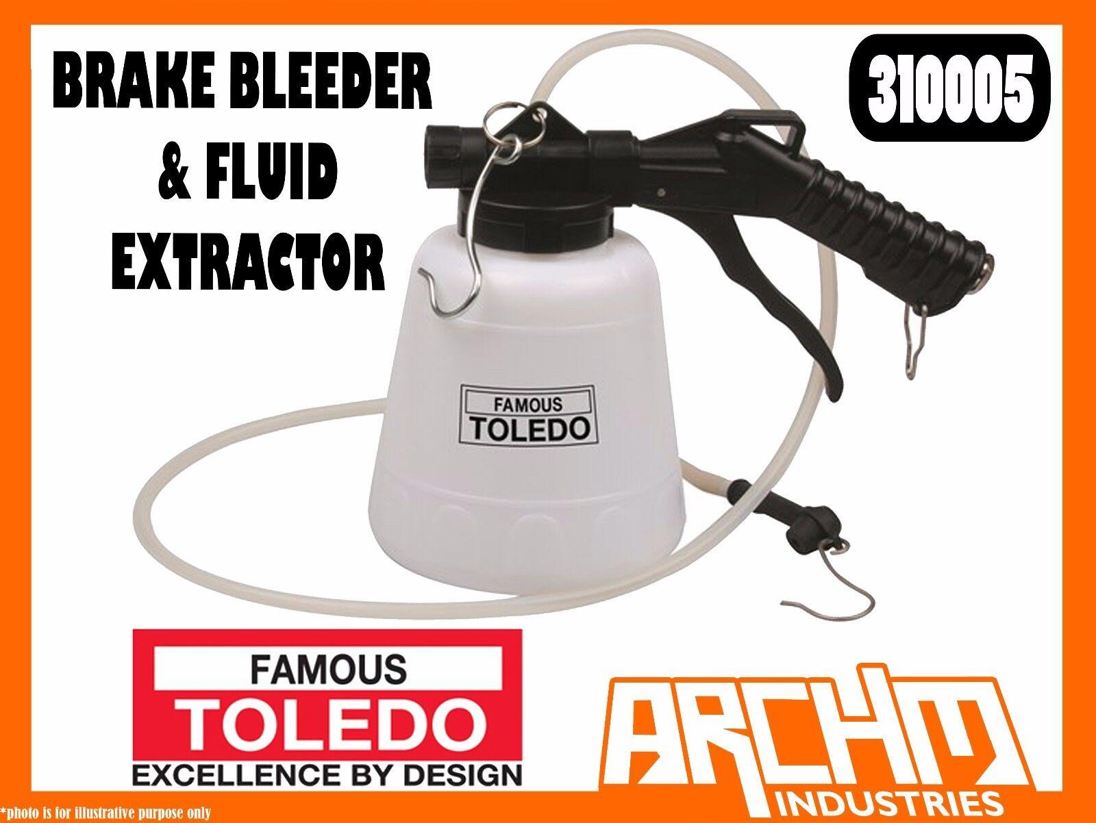 TOLEDO 310005 - BRAKE BLEEDER & FLUID EXTRACTOR - CLUTCH AIR OPERATED ADAPTOR