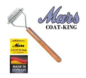 Mars Coat King Stripper Chien 10 Blade Décapage Râteau Outil Sous-poil Peigne