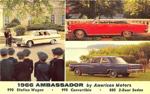 Image Is Loading 1966 Ambador Station Wagon Convertible Two Door Sedan
