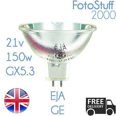 Eja 21 V 150 W GX5.3 Proyector Sylvania Bombilla Lámpara eja Reino Unido Stock