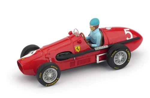 Pilota Brumm 1:43 R044-CH Ferrari 500F2 Gp Gran Bretagna 1953 Alberto Ascari #5
