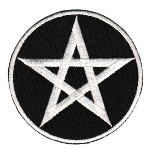 An69 pentagrama pentakel caracteres Patch perchas imagen Patch parchear tatuaje estrella