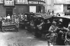 WW2 - Belgique 1939 - Unité motorisée prête au départ
