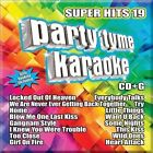 Party Tyme Karaoke - Super Hits 19 [16-song CD+G] * by Karaoke (CD, May-2013, Sybersound Records)
