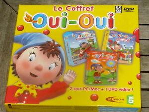 Le-COFFRET-OUI-OUI-2-jeux-PC-MAC-1-DVD-Video-NEUF-VF