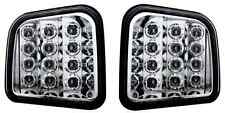 Custom LED Front Parking/Signal Light Pair For 2006-2009 Hummer H3 Crystal Clear