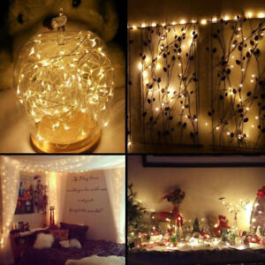 33ft-Waterproof-Dimmable-Copper-Wire-Lights-100-LED-Fairy-String-Light-Strip