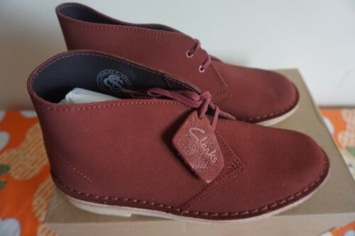 100 Rrp Desert mujer para £ Uk5 5 Clarks Originals 6 Botines Terracotta Boot 4Up71a7q