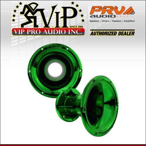 "PRV AUDIO WGP14-50 Green CR 2/"" EXIT WAVEGUIDE 45 x 45 Horn 4-Bolt For 2/"" Driver."