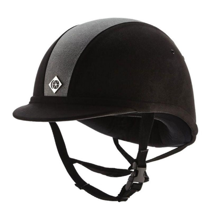 Charles Owen YR8 horse riding hat helmet low profile headwear pas015.2011