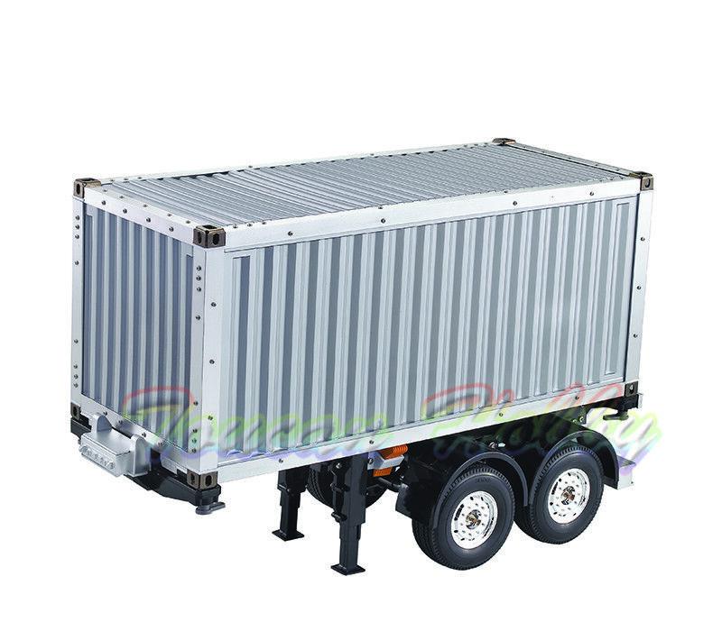 Hercules 479202mm 20 ft (approx. 6.10 m) 2 Ejes RC Coche Modelo de contenedor de chasis de camión