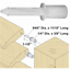 Plantation Shutter Pins Standard Nylon For Louvers FITTING INSTRUCTIONS