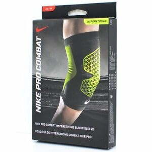 1b8f397661 Image is loading NIKE-Pro-Combat-Hyperstrong-Workout-Elbow-Sleeve-Black-