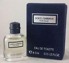 jlim410: Dolce & Gabbana Pour Homme (for Men), 4.5ml EDT Miniature cod/paypal