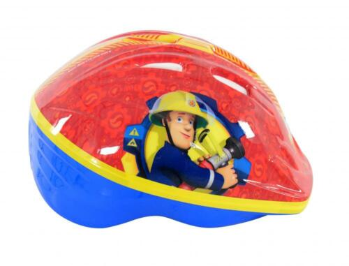Fireman Sam Kids Safety Bike Helmet Boys Bicycle Childs Skating 48 54cm M13150