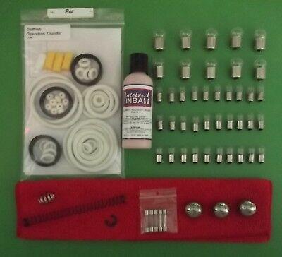 1992 Gottlieb//Premier Operation Thunder Pinball Machine Tune-up Kit