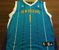 NEW ORLEANS PELICANS # 1 ELLA  NBA BASKETBALL JERSEY BY ADIDAS YOUTH LARGE 14/16