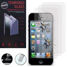 3 Films Verre Trempe Protecteur Protection Au Choix pour Apple iPhone 5/ 5S/ 5se