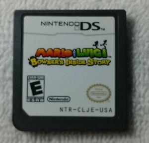 Mario-amp-Luigi-Bowser-s-Inside-Story-NINTENDO-DS-VIDEO-GAME-rare