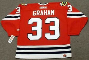 95941cd52 Image is loading DIRK-GRAHAM-Chicago-Blackhawks-1990-CCM-Throwback-Away-