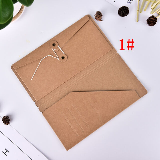 Filler Papers Travelers Notebook Kraft Paper Business Card Holder