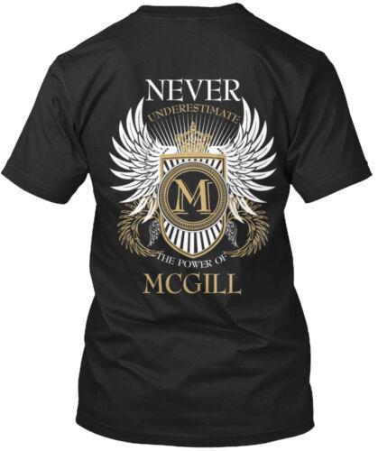 Power Of Mcgill M Never Underestimate The Standard Unisex T-shirt