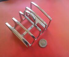 Nice vintage silver plate toast rack by JAMES DIXON