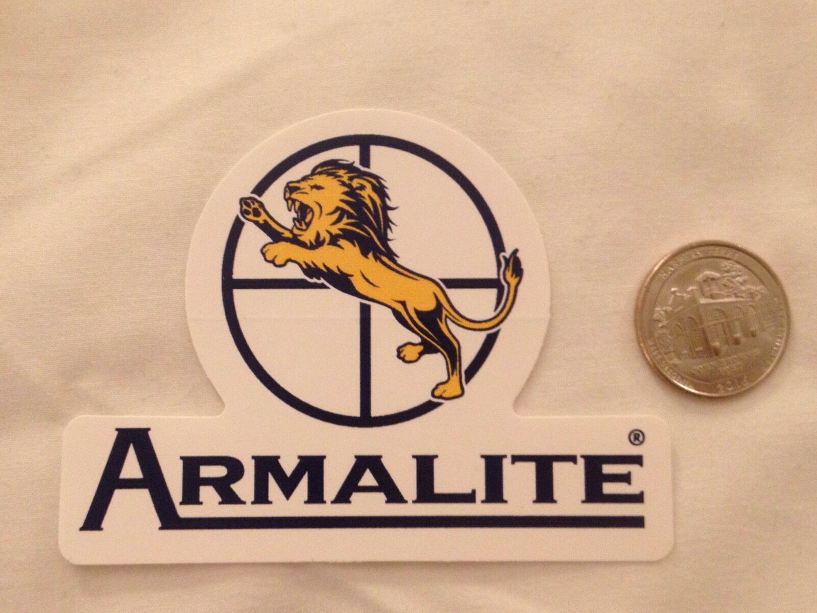ArmaLite armas calcomanía etiqueta engomada de la fábrica de armas de fuego