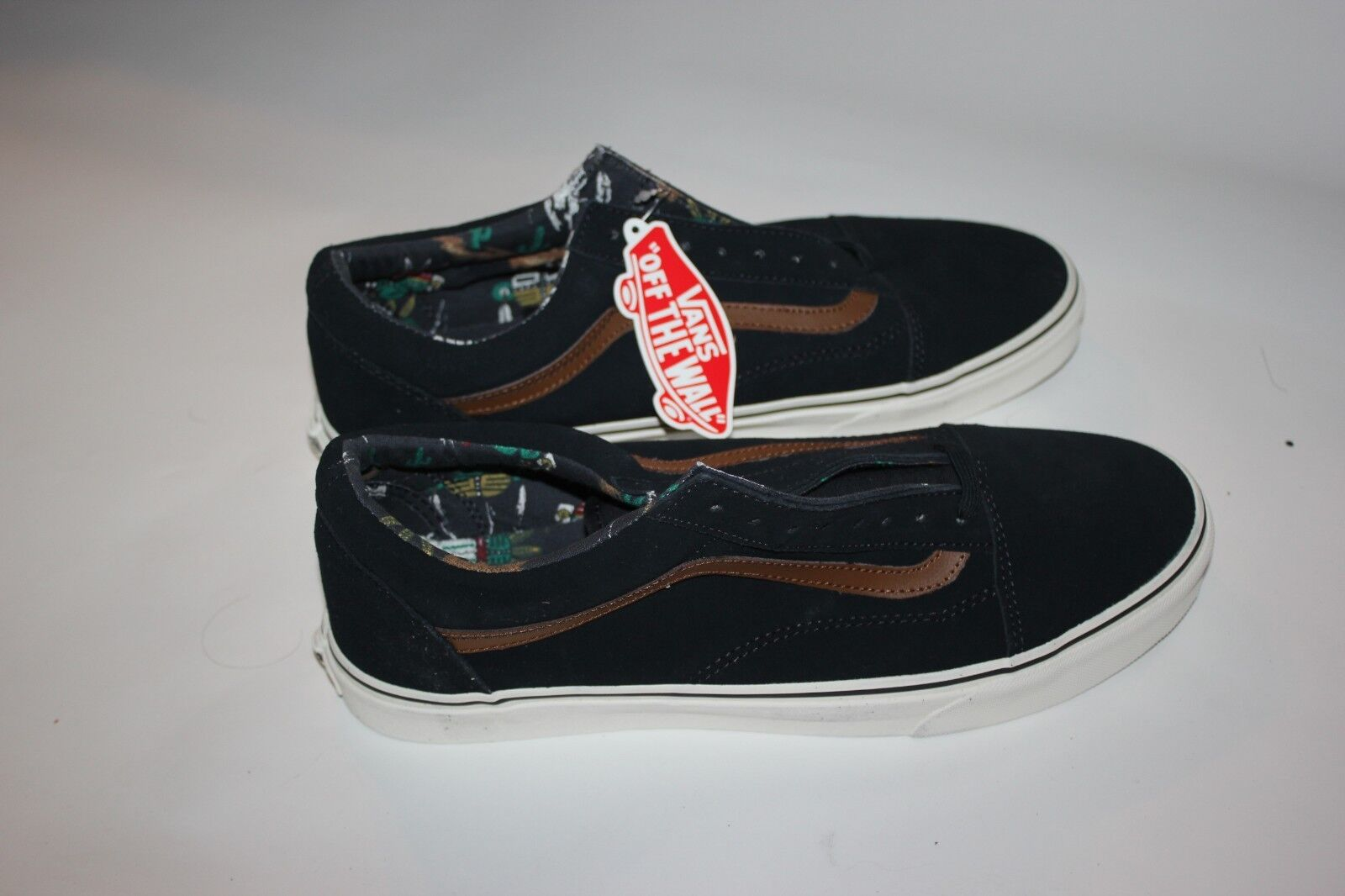 a69b2cad Vans Old Skool Desert Tribe Tribe Tribe Suede bluee shoes Mens 11.5 ...