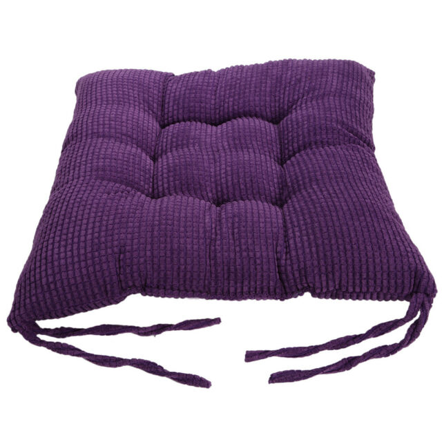 SOFT GARDEN Armchair Booster Cushion Seat Pad Floor Office Chair Riser Chunky