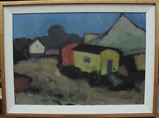 """Arne Aspelin 1911- 1990, """"Zirkuswagen"""", um 1950"""