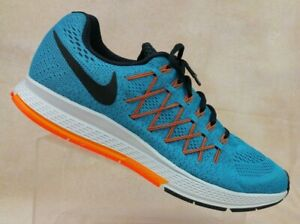 buy online b8971 b3a3b Nike Air Zoom Pegasus 32 Blue/Orange Running Shoes 749340 ...