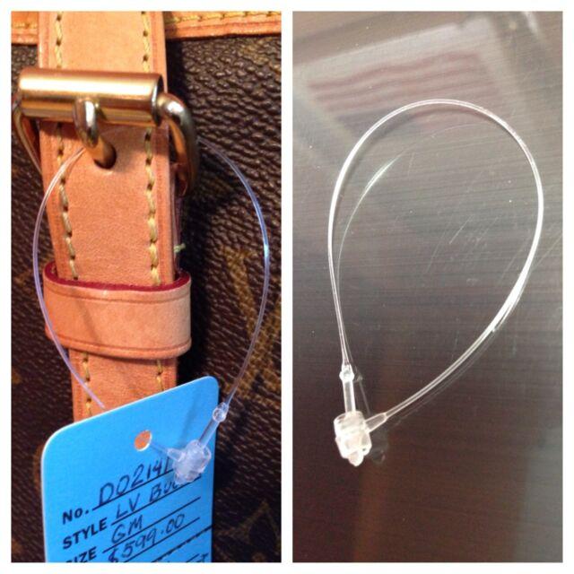 "5/"" 10,000 Snap Lock Pin Security Loop Plastic Tag Fastener No Tag Gun Required"