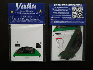 yma3252// YAHU Models B-17G Flying Fortress 1:32 Instrument panel