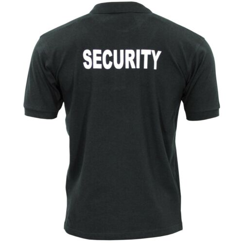 Pro Company Jersey Men/'s Pole Casual Work Security Shirt Black 00865A