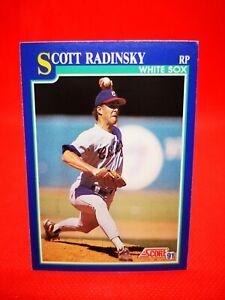 Score 1991 carte card Baseball MLB US NM+/M Chicago White Sox #62 Scott Radinsky